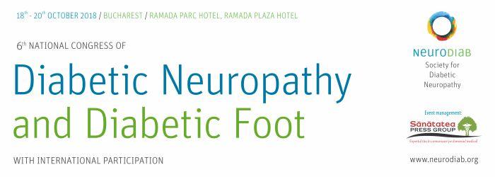 Congresul Național de Neuropatie Diabetică și Picior Diabetic: 18-20 octombrie, București
