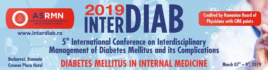 INTERDIAB Conferință 7-9 martie, București
