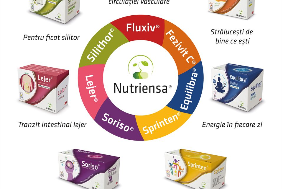 Nutriensa® – gama de suplimente alimentare a companiei Antibiotice, prezentă la cea mai importantă Conferință de Fitoterapie din România