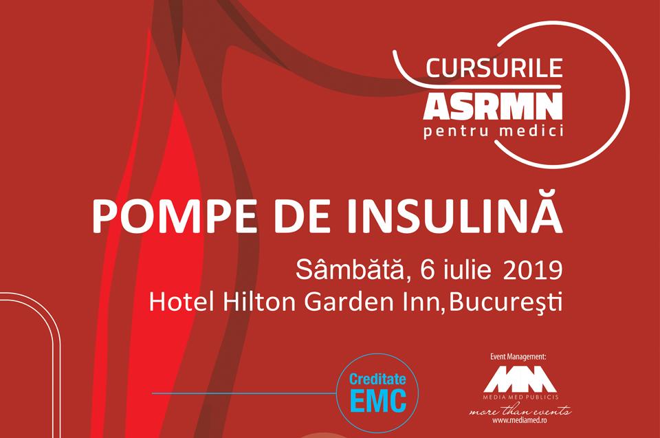 Cursul de pompe de insulină & Cursul de pompe de insulină augmentate cu senzori: 6 iulie, Hilton Garden Inn Bucureşti
