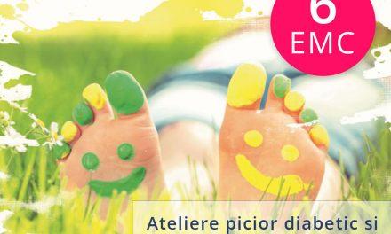 "Ateliere ""Picior diabetic si neuropatie diabetica"""