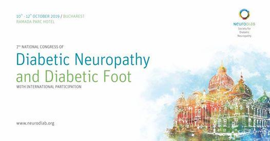 Al VII-lea Congres Național de Neuropatie Diabetică și Picior Diabetic