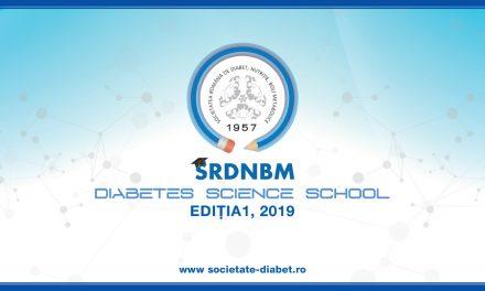 Primul program de training în cercetarea științifică medicală din domeniul diabetului desfășurat de Societatea Română de Diabet, Nutriție și Boli Metabolice