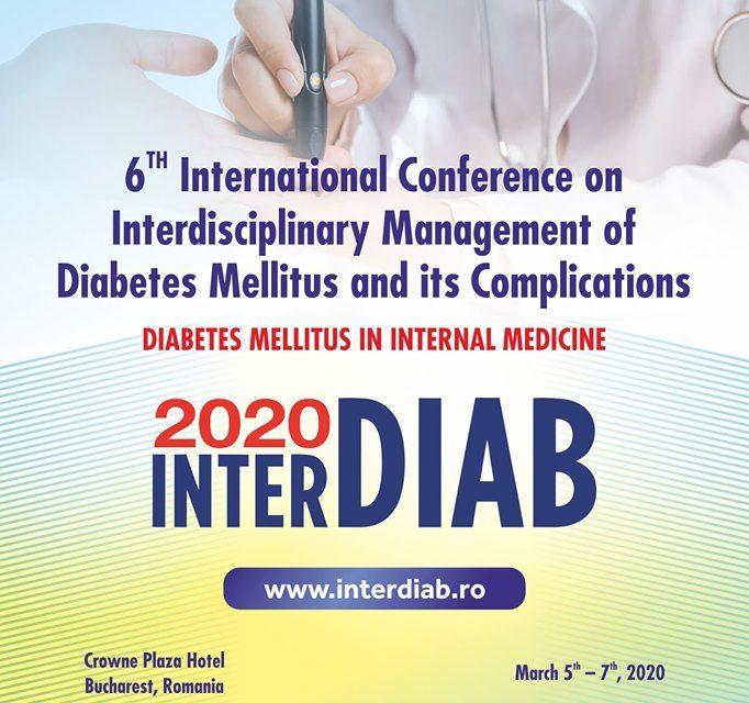 Conferinţa InterDiab 2020: Diabetul zaharat în medicina internă