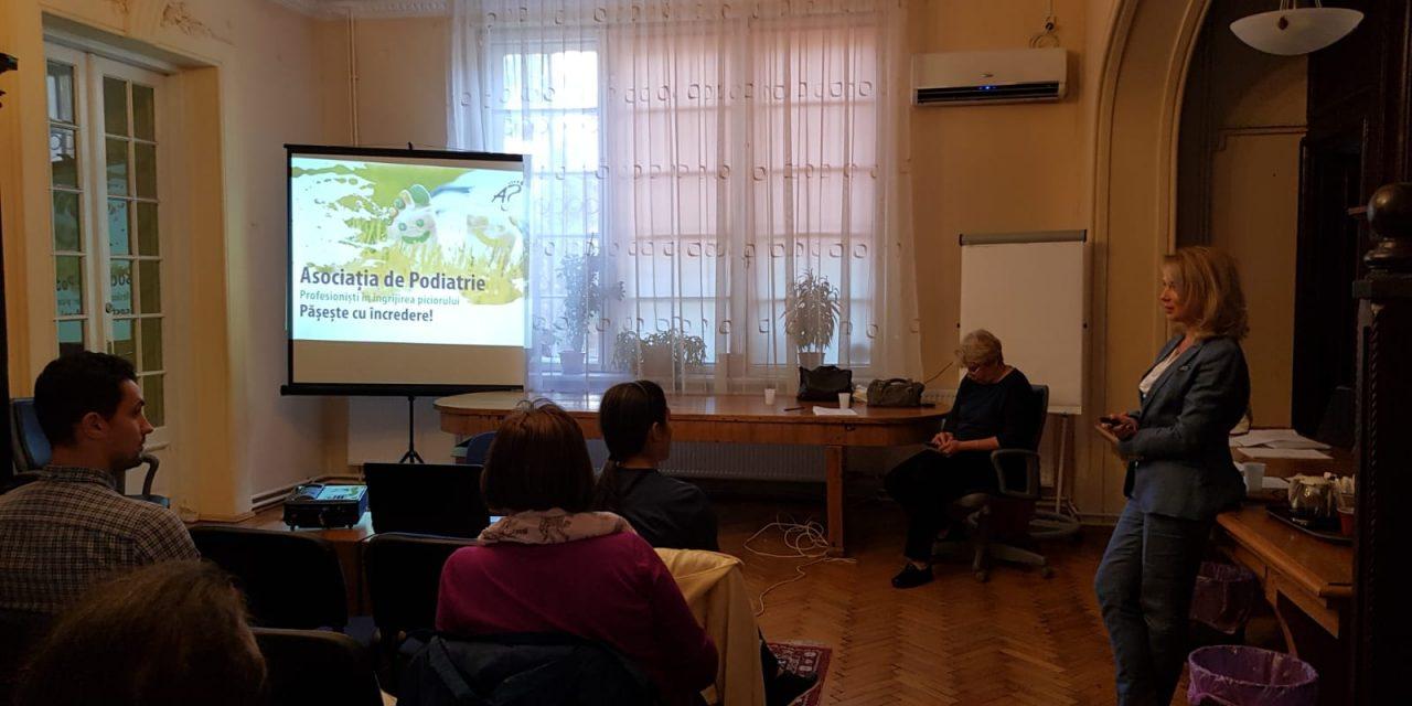 La Bucureşti s-a desfăşurat cu succes un nou curs pentru asistenţi medicali şi fiziokinetoterapeuţi