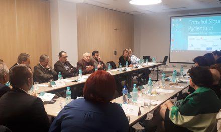 Cea de-a doua ediție a Consiliului Siguranței Pacientului a avut loc la București