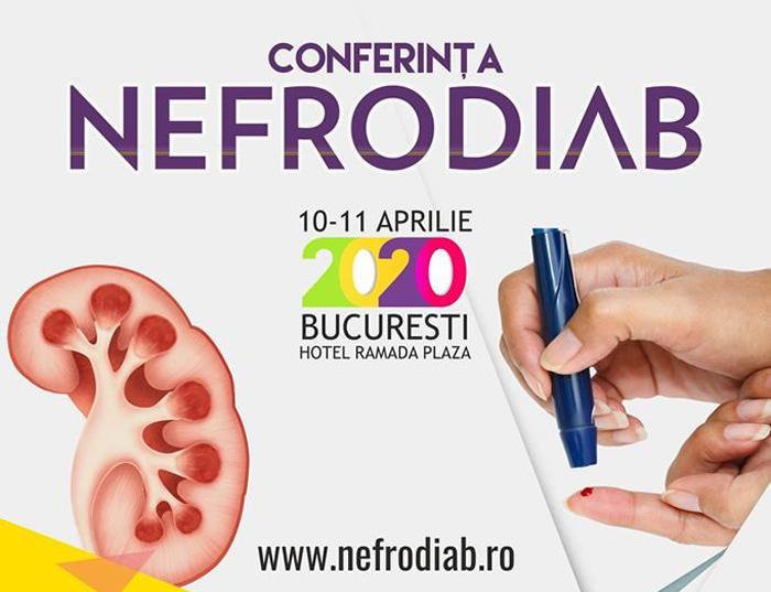 Conferinta Națională NefroDIAB 2020: 10-11 aprilie, București