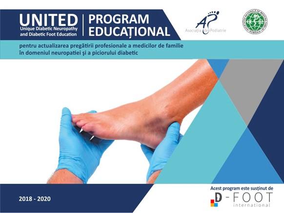 Program UNITED 2019-2020: Atelier dedicat neuropatiei diabetice şi piciorului diabetic ajunge la Campulung Moldovensc