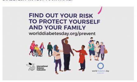 Ziua Mondială a Diabetului și luna de conștientizare a diabetului