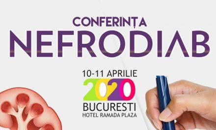 Conferinţa Naţională NefroDiab: 10-11 aprilie, Bucureşti