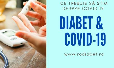 Pacientul cu diabet zaharat şi infecţia cu COVID- 19