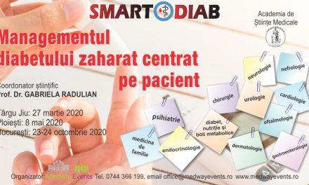 """Conferința """"Managementul Diabetului Zaharat Centrat pe pacient"""" se amână"""