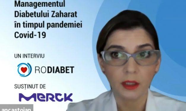 Conf. Dr. Anca Pantea Stoian: Ce este COVID-19 și cum afectează persoanele cu diabet zaharat?