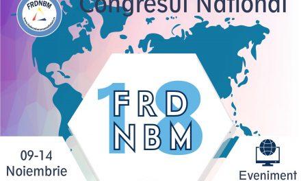 Congresul național al Federației Române de Diabet, Nutriție și Boli Metabolice se va desfășura, online, în perioada 9-14 noiembrie