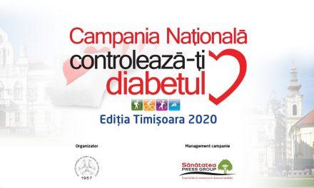 Campania Națională Controlează-ți Diabetul, 12-14 noiembrie 2020