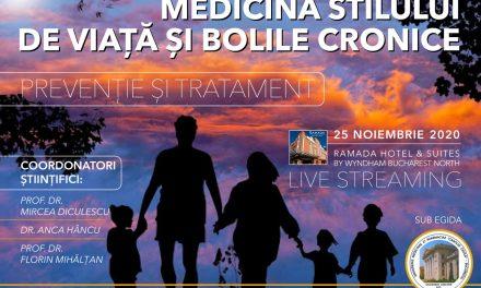 """Conferința """"Medicina stilului de viață și bolile cronice: Prevenție și tratament"""""""