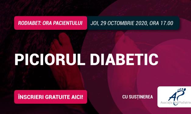 """Piciorul Diabetic, sub lupa specialiștilor la cea de-a cincea întâlnire """"Ora Pacientului RoDiabet"""""""