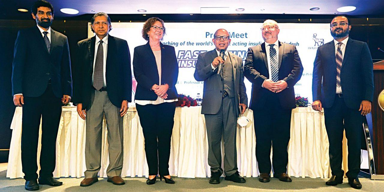 Novo Nordisk lansează insulina cu cea mai rapidă acțiune din lume în Bangladesh