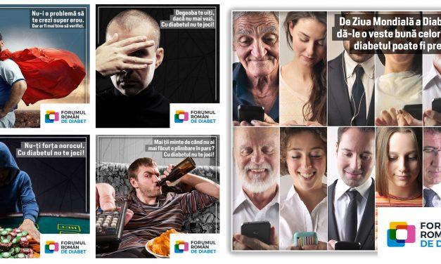 """""""Cu diabetul nu te joci!"""" – campanie de conștientizare lansată de Forumul Român de Diabet"""