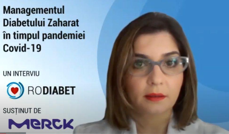 Conf. Dr. Anca Pantea Stoian: Abordarea terapeutică a pacientului cu diabet zaharat și Covid-19