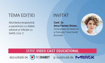 Conf. Dr. Anca Pantea Stoian: De ce pacientul cu diabet este vulnerabil la infecția cu covid-19?
