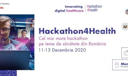 Câștigătorii Hackathon4Health 2020 au dezvoltat proiecte cu impact real în inovația digitală a sistemului de sănătate din România