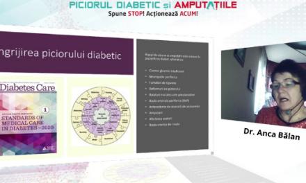 """Pe 28 ianuarie a avut loc conferinţa-dezbatere """"Piciorul Diabetic şi Amputaţiile. Spune STOP! Acţionează ACUM!"""""""
