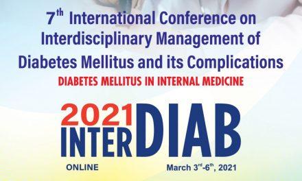 Conferinţa Internaţională Managementul Interdisciplinar al Diabetului Zaharat şi al Complicaţiilor Sale (InterDiab) se va desfăşura în premieră online, între 3 și 6 martie