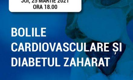 RoDiabet Ora Pacientului: Riscuri de patru ori mai mari pentru pacienții cu diabet să dezvolte boli cardiovasculare