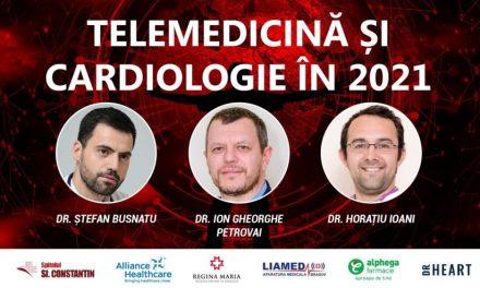 """Comunitatea CardiologieModerna.ro: În prima ediție """"Telemedicină și cardiologie"""" din 2021 am discutat despre inovație în medicina digitală"""