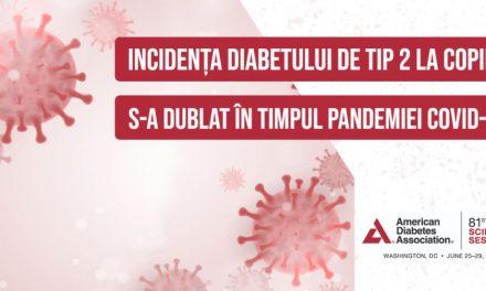 Incidența diabetului de tip 2 la tineri s-a dublat în perioada pandemiei