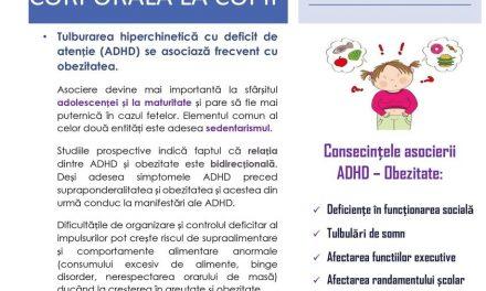 Campanie Națională de Conștientizare și Prevenție a Obezității Infantile inițiată de INSMC în parteneriat cu Ministerul Sănătății