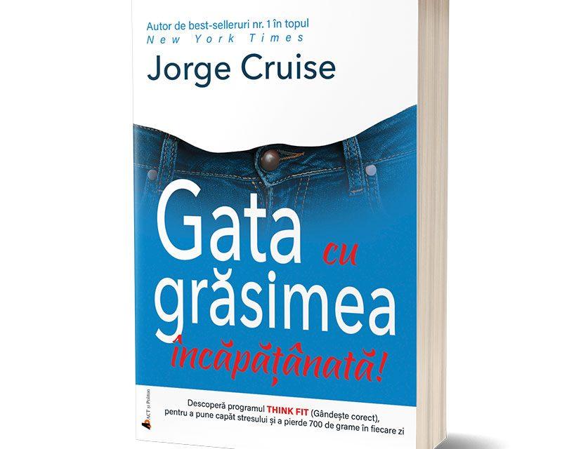 Jorge Cruise propune o metodă de slăbit care îmbină sfaturile practice cu motivația spirituală