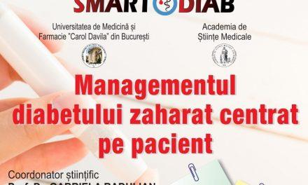 """A treia ediție a conferinței """"Managementul diabetului zaharat centrat pe pacient"""": 7-8 octombrie 2021, online"""