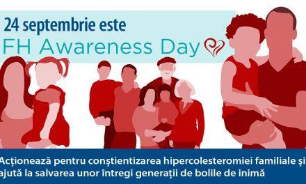 Ziua Mondială a Hipercolesterolemiei Familiale 2021