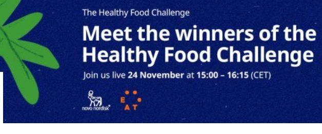 The Healthy Food Challenge își prezintă câștigătorii pe 24 noiembrie